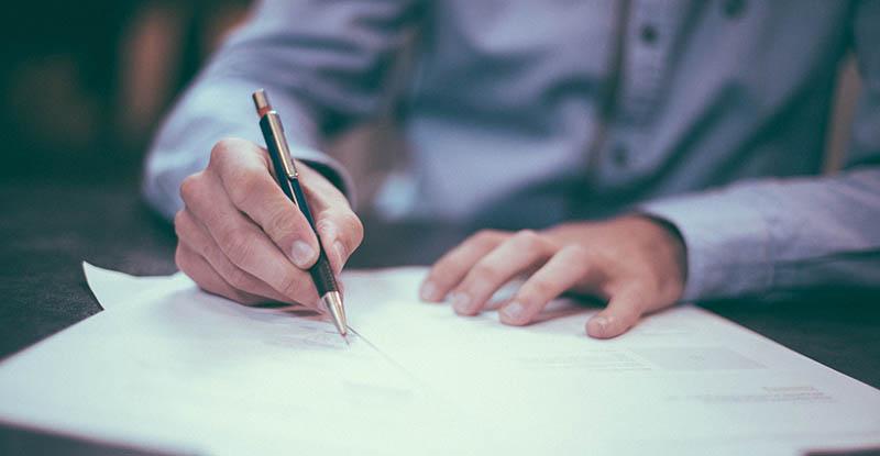 schrijven uitvaartwensen document